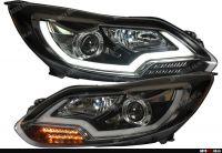 Подробнее: Установка ламп Philips BlueVision ultra и изготовление и установка линзовых фар в Ford Focus 3