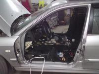 Подробнее: Установка динамиков и проводов Hyundai Sonata EF