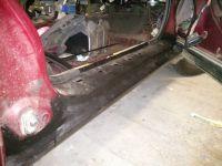Замена порогов и арок Mazda 626