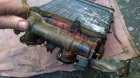 Подробнее: Ремонт радиатора печки на Mazda 626
