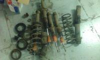 Подробнее: Замена передних и задних  амортизаторов Hyundai Sonata ef
