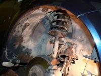 Замена амортизаторов Renault Scenic 2