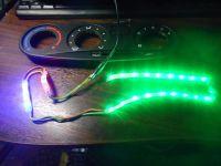 Подробнее: Диодная подсветка регуляторов печки Шевроле Нивы (ВАЗ 2123)