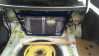 Подробнее: Установка распорки багажника JZX90-100 Toms в Toyota Mark II (100)