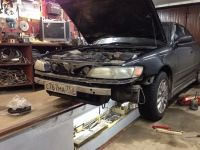 Подробнее: Замена тормозных дисков в Toyota Mark II (90) и изготовление перфорированных дисков для Toyota...