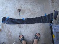 Подробнее: Перетяжка заднего бампера Лады Приора черной пленкой