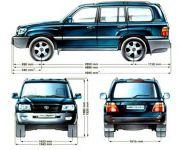 Подробнее: Комплектация Toyota Land Cruiser 100 по Vin