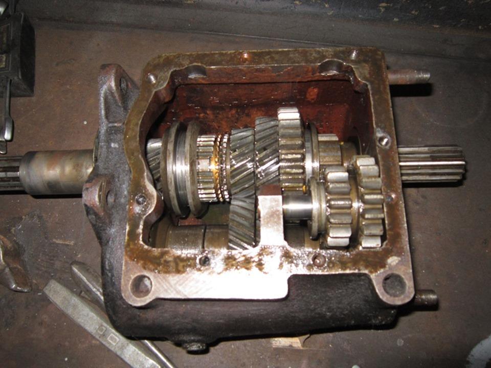 Как сделать ремонт кпп 64