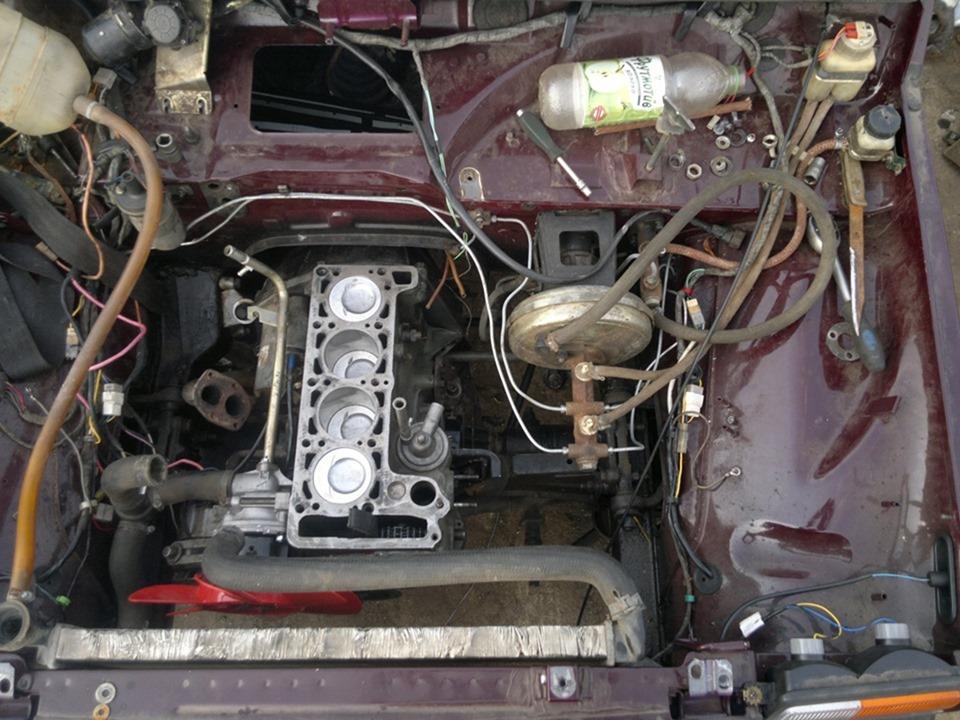 Ваз 2121 нива ремонт двигателя своими руками 22