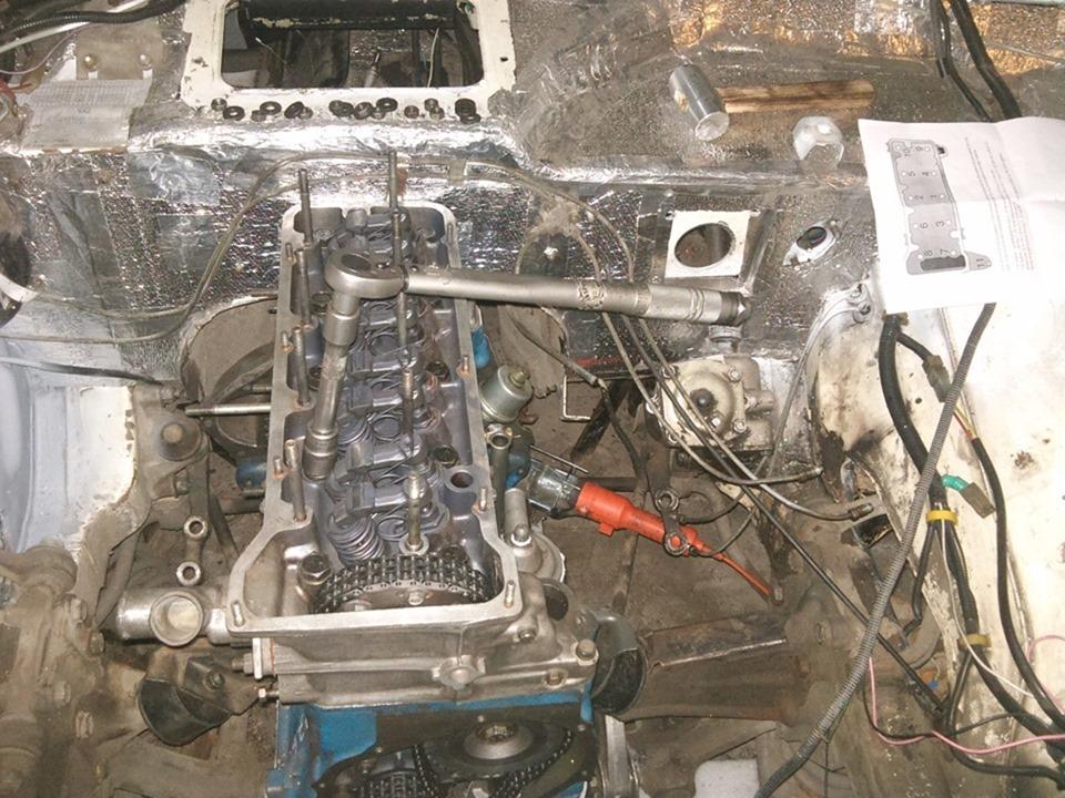 Ваз 2121 нива ремонт двигателя своими руками 35