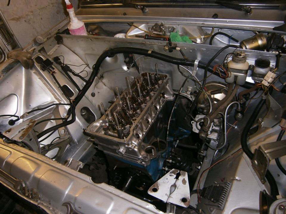 Запчасти и сборка двигателя