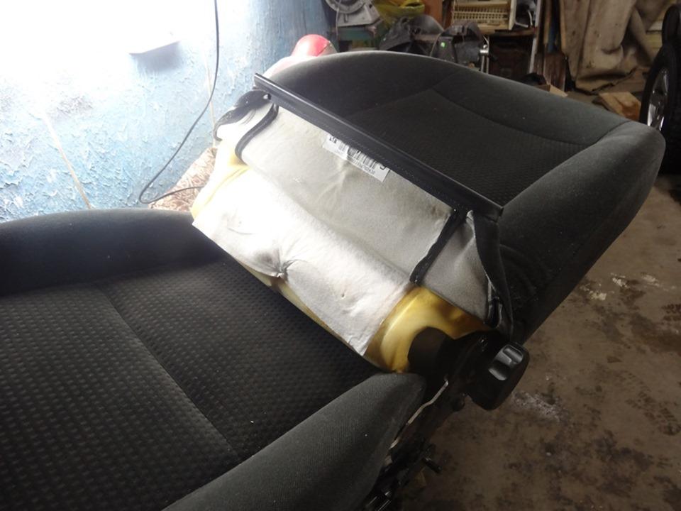 Переделка сидений автомобиля своими руками 55