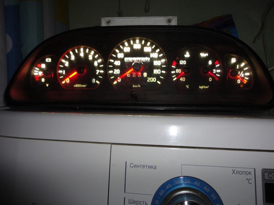 Установка приборов ГАЗ 3110 в торпеду ВАЗ 2107