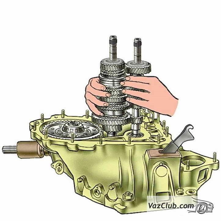 Ваз 2115 ремонт коробки передач